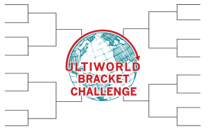 The logo for the 2012 Ultiworld Bracket Challenge.