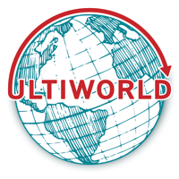 Ultiworld globe logo