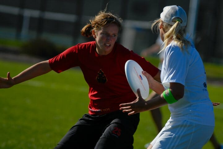 Miranda Roth playing for Seattle Riot.