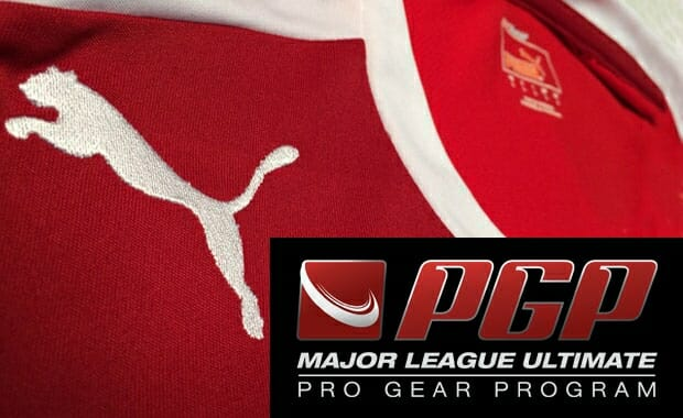 Major League Ultimate's Pro Gear Program.