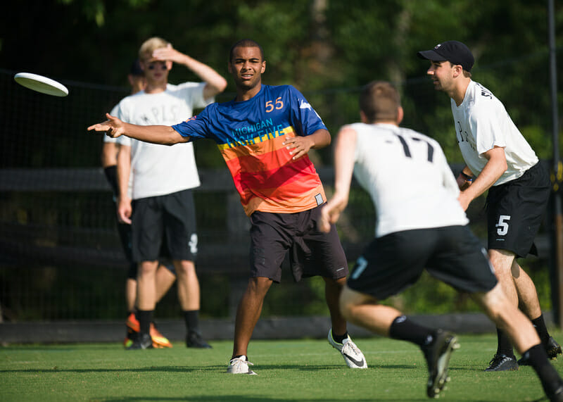 High Five's Johnny Bansfield. Photo: Kevin Leclaire — UltiPhotos.com