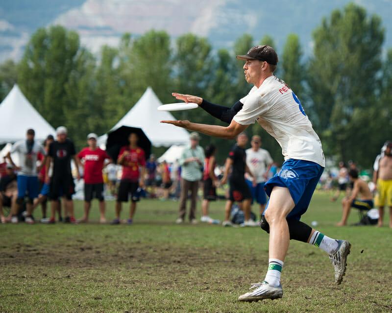 Seattle Sockeye's Matt Rehder. Photo: Kevin Leclaire -- UltiPhotos.com